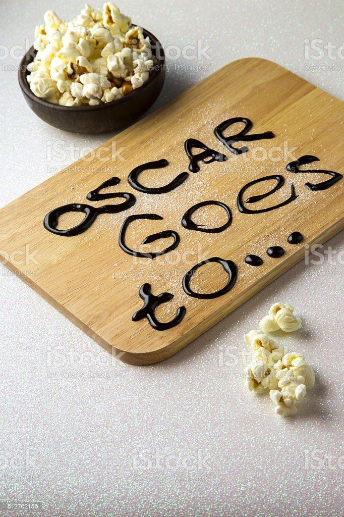 Oscar awards stock photo