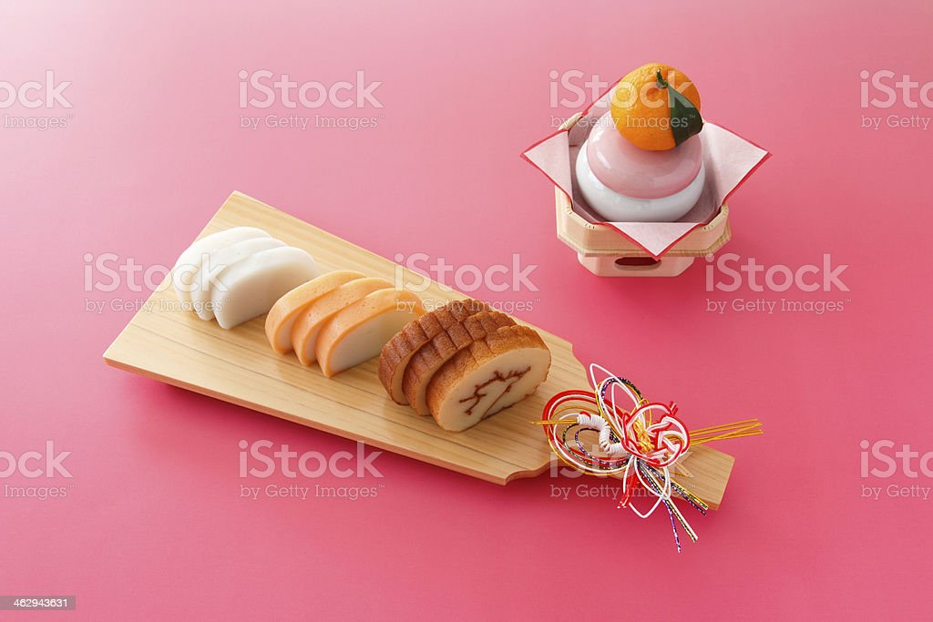 Osechi dishes-- traditional New Year's foods in Japan stock photo