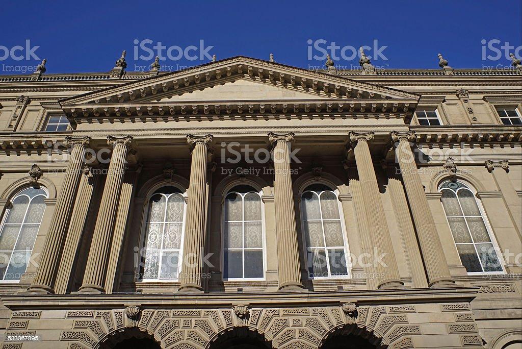 Osgoode Hall, Toronto stock photo