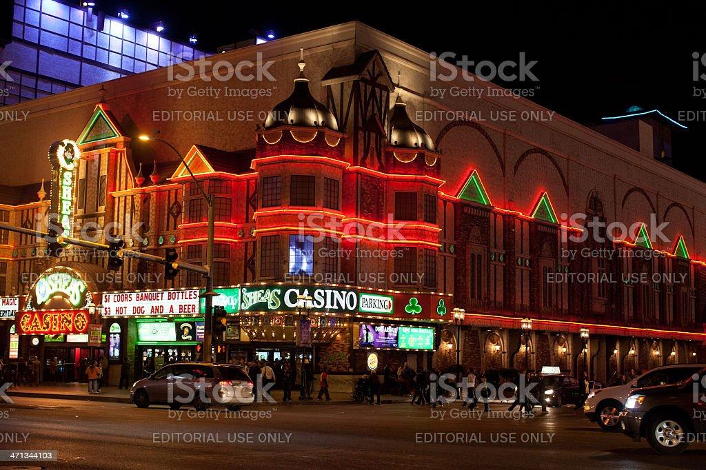 OSheas Casino stock photo