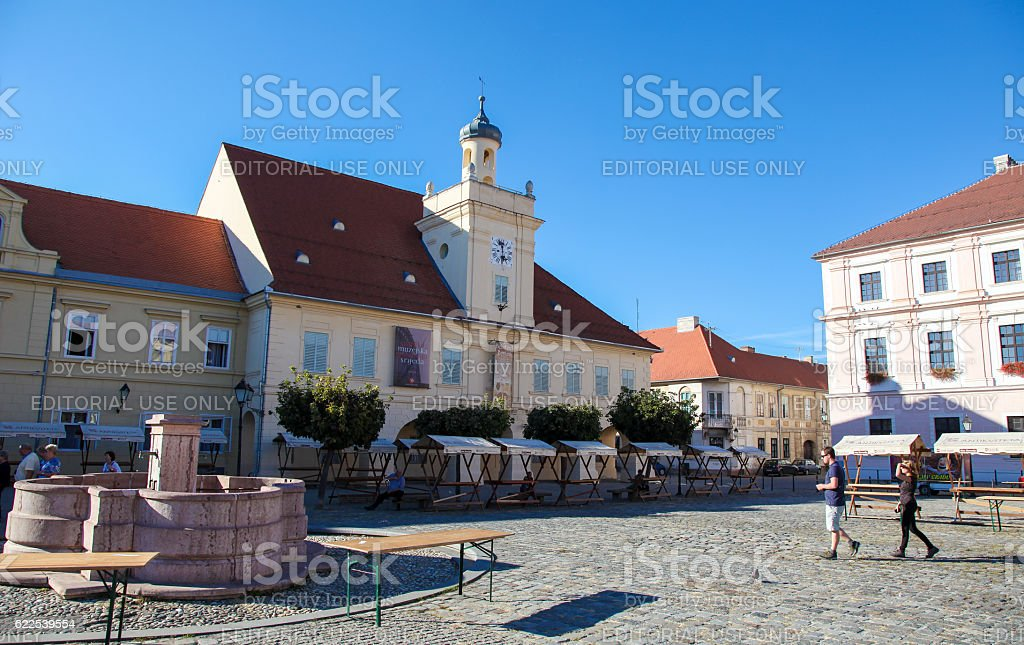 Osijek, Slavonia, Croatia stock photo