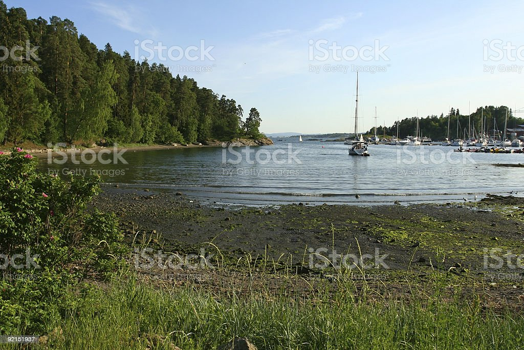 Oslo Fjord royalty-free stock photo