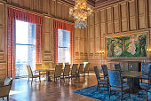 Oslo. Norway. Munch Room in The City Hall Building
