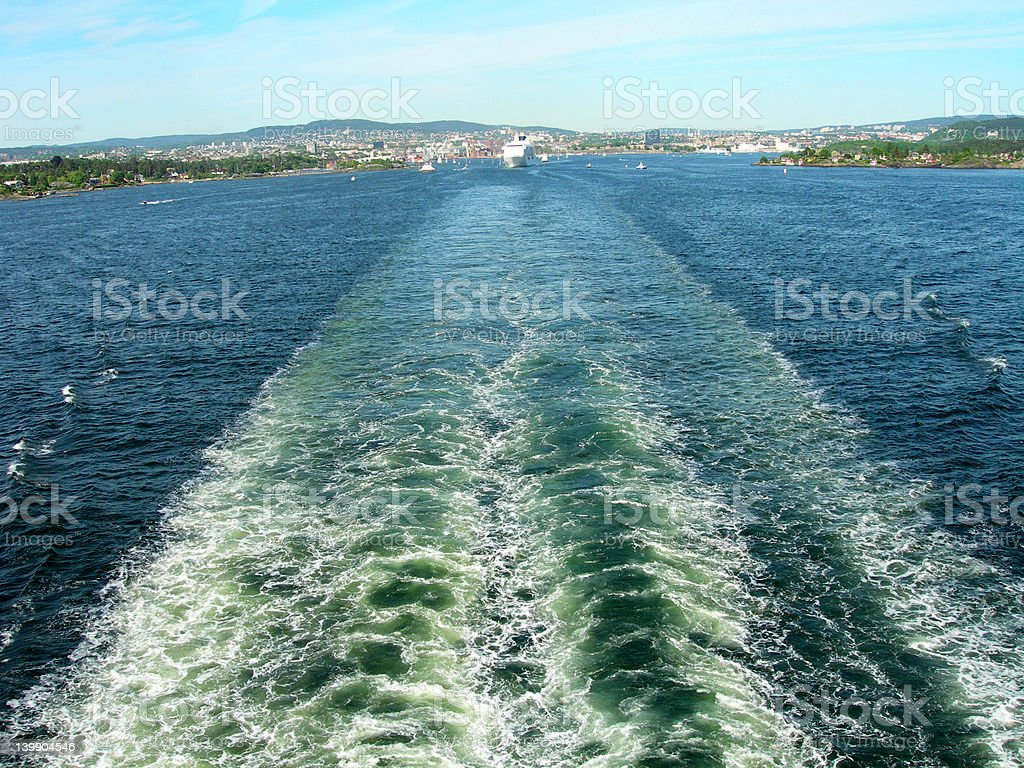 Oslo royalty-free stock photo