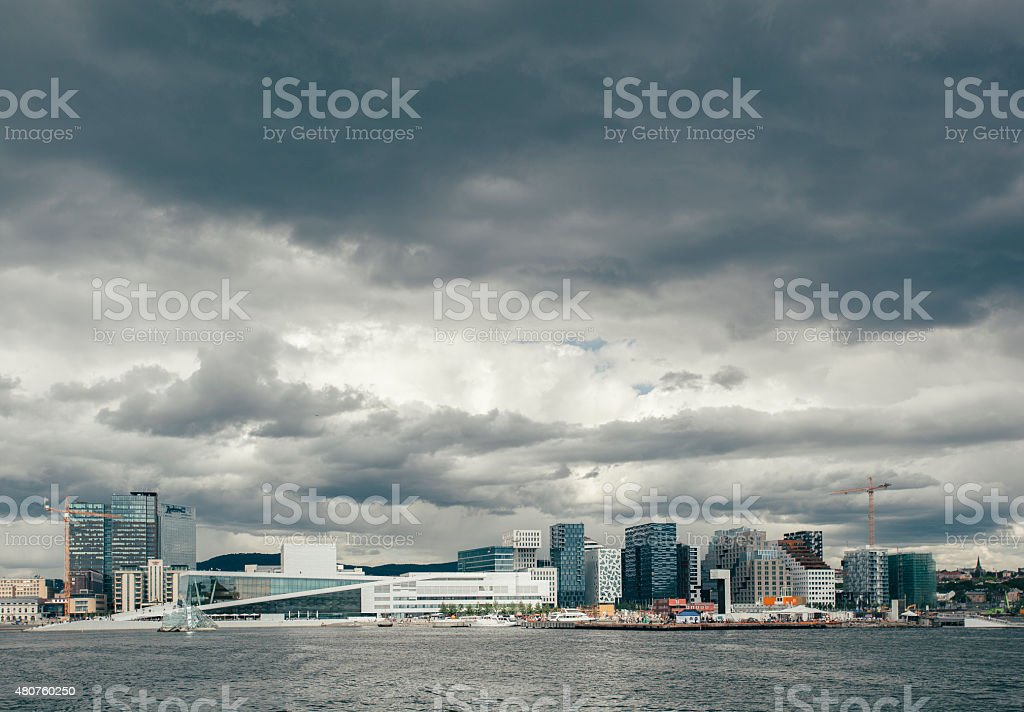 Oslo stock photo