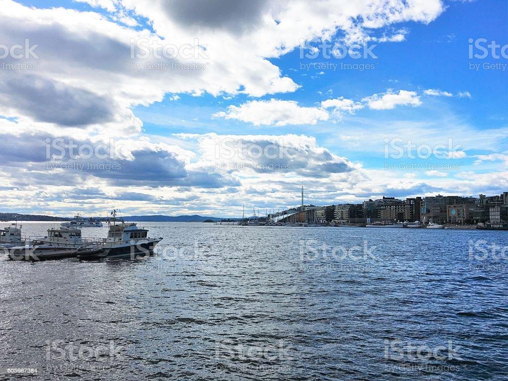 Oslo, the capital of Norway. photo libre de droits