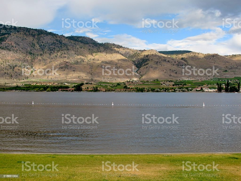 Osoyoos Lake, British Colombia, Canada stock photo