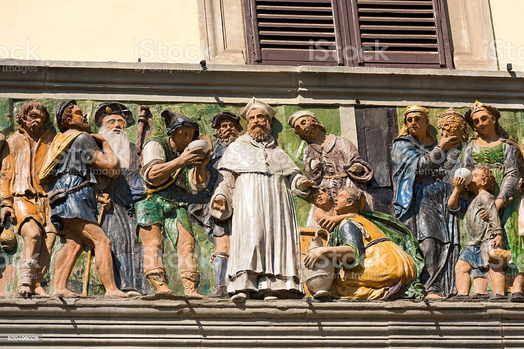 Ospedale del Ceppo - Pistoia Italy stock photo