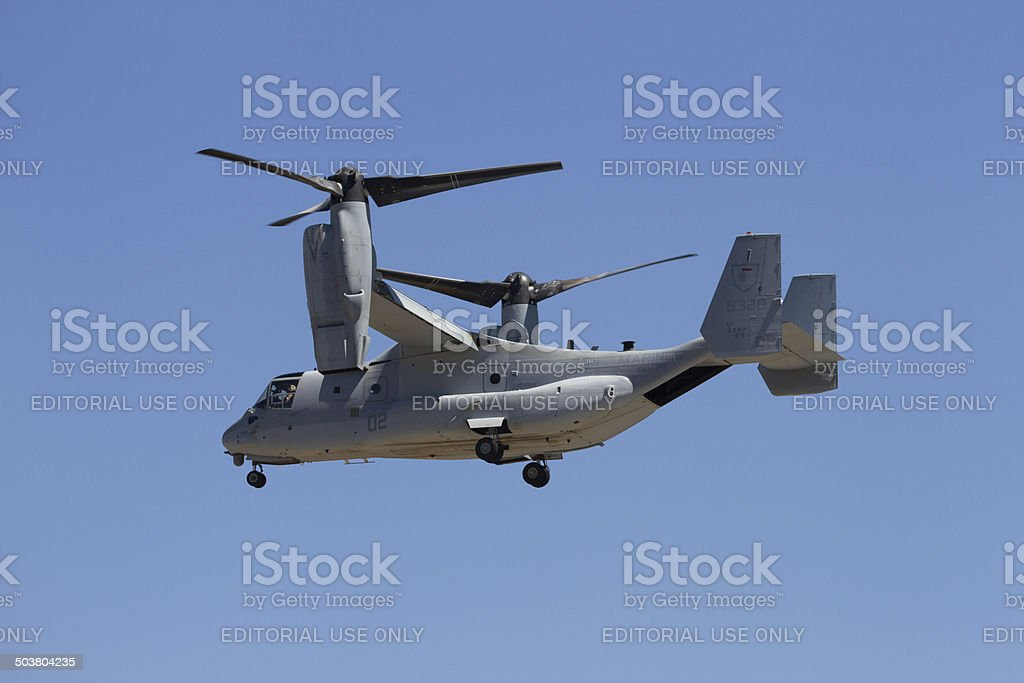 Osprey Aircraft royalty-free stock photo