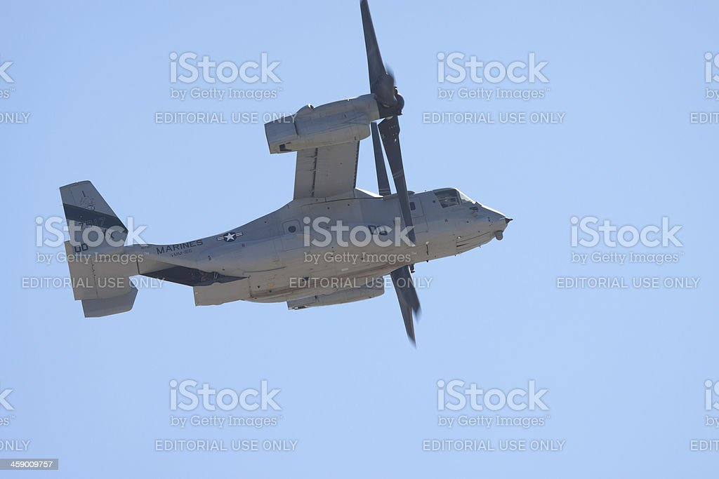 Osprey Helicopter royalty-free stock photo