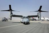 USAF MV-22 Osprey in Bahrain International Airshow