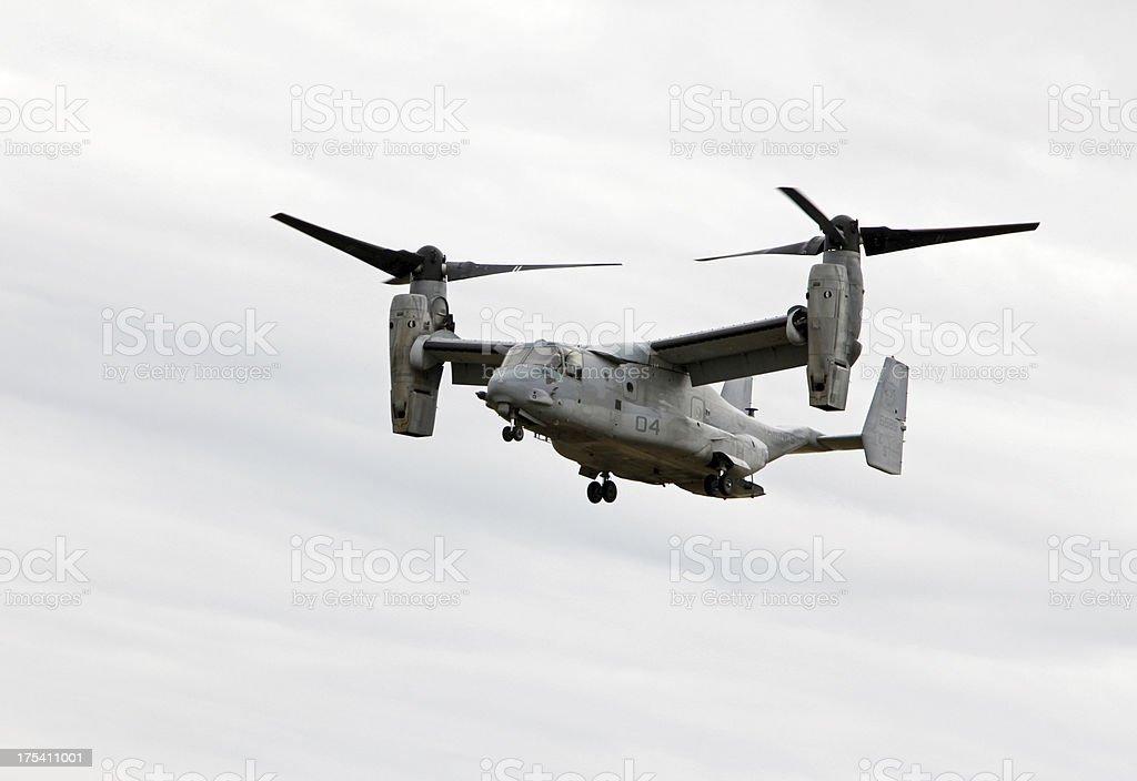 V-22 Osprey In Flight stock photo