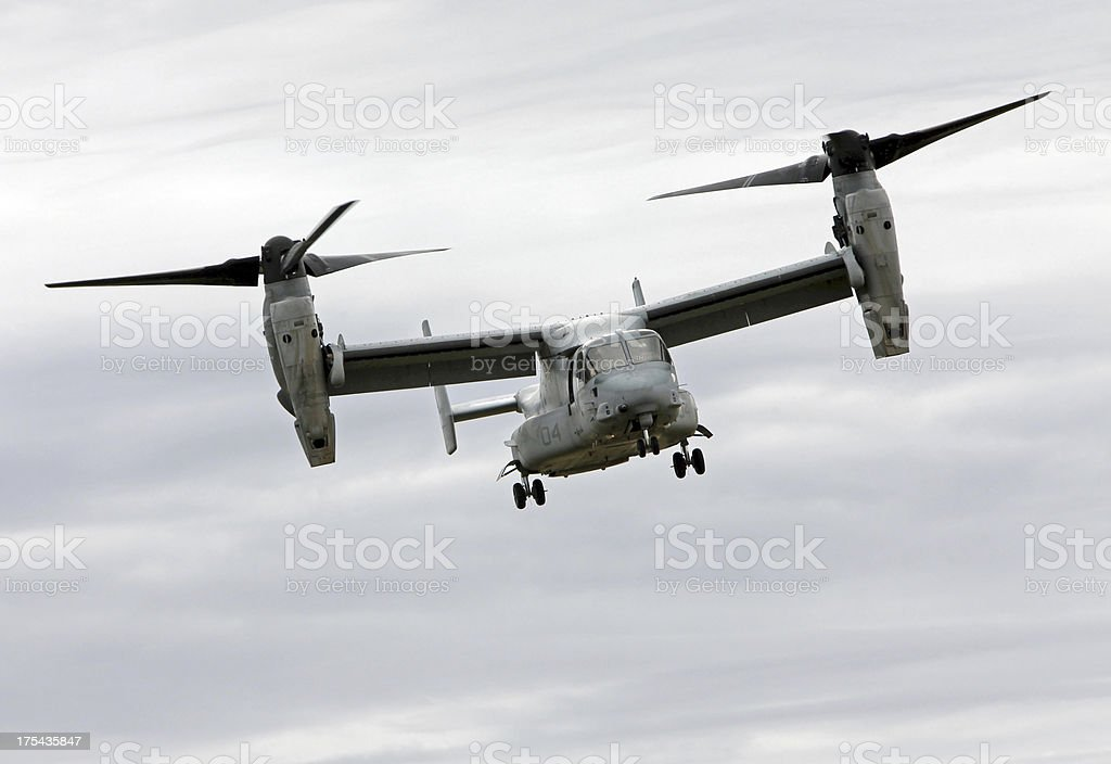 V-22 Osprey In Flight royalty-free stock photo