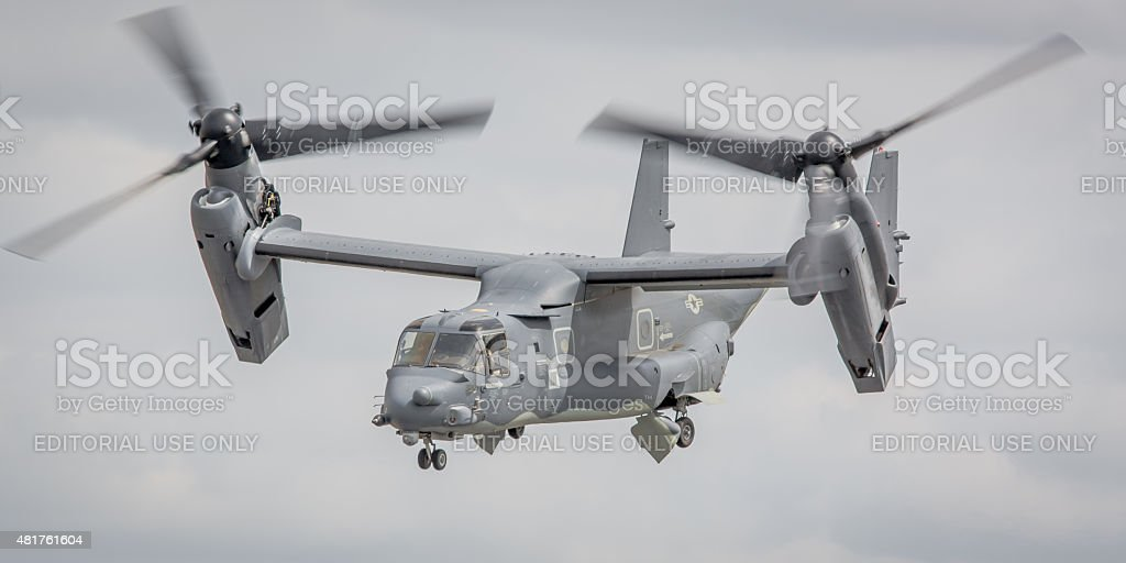 V-22 Osprey tilt-rotor aircraft, USAF stock photo