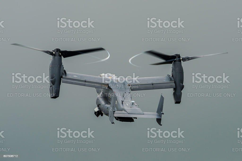 MV-22 Osprey Tiltrotor stock photo