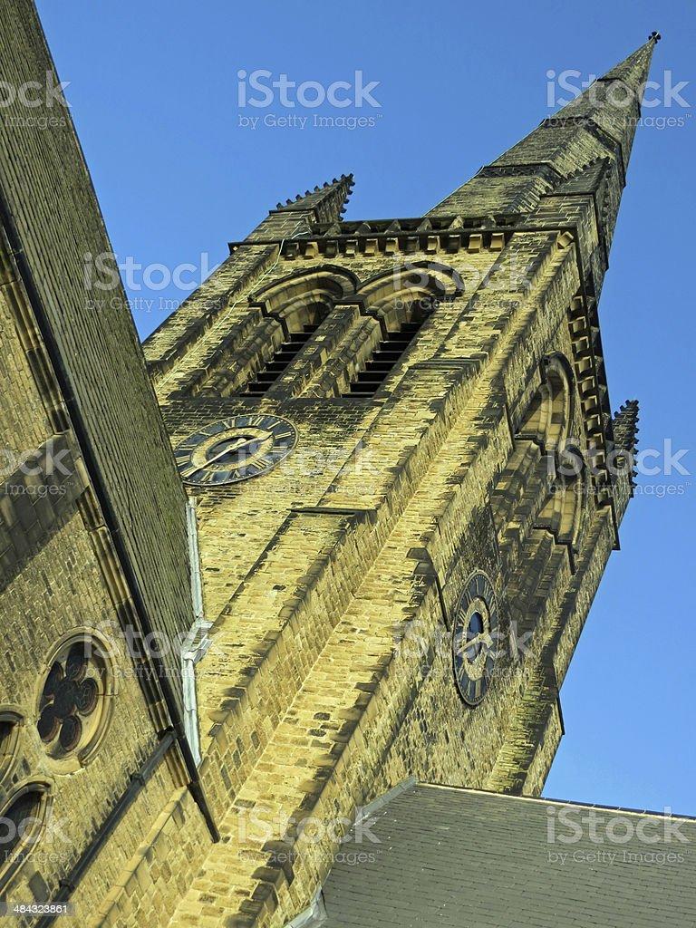 Ossett Church Spire stock photo