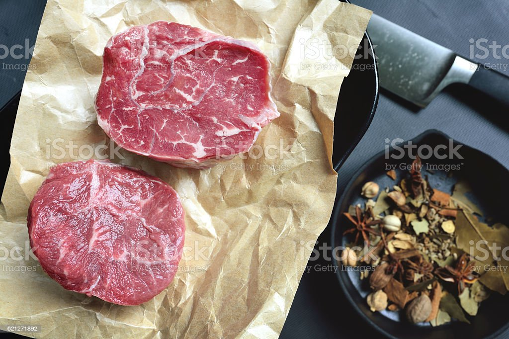 Osso Buco or Beef Shank stock photo