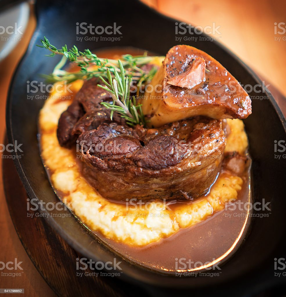 Ossobuco stock photo