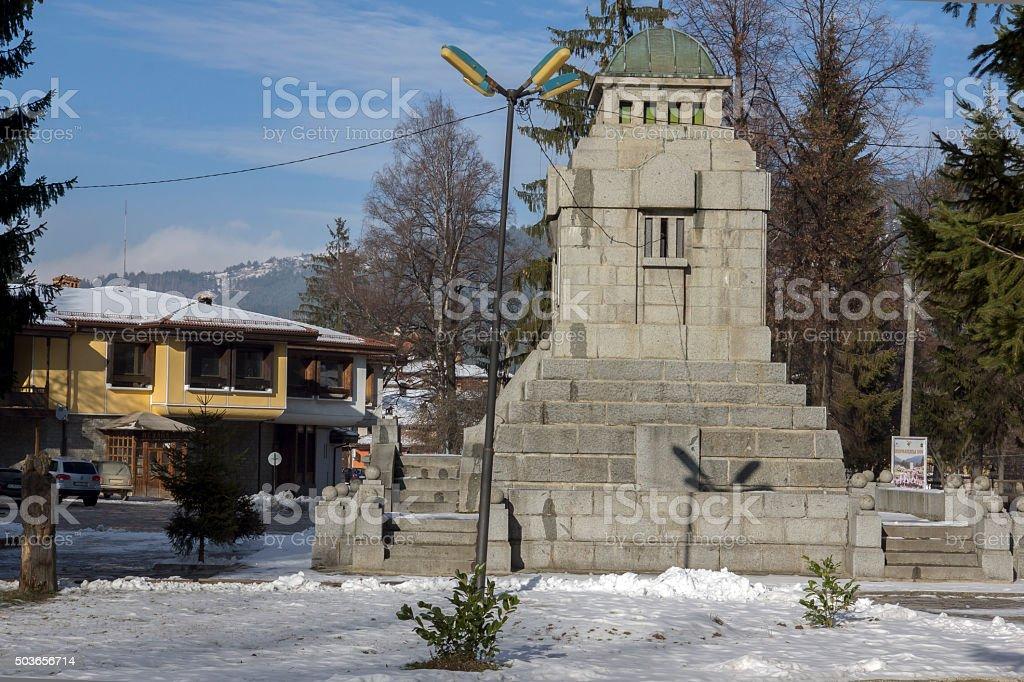 Ossuary of participants in the April Uprising in Koprivshtitsa, Sofia Region stock photo