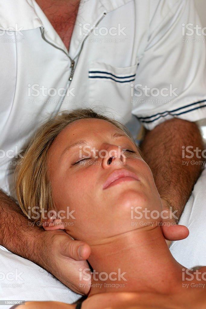 Osteopath 4 royalty-free stock photo