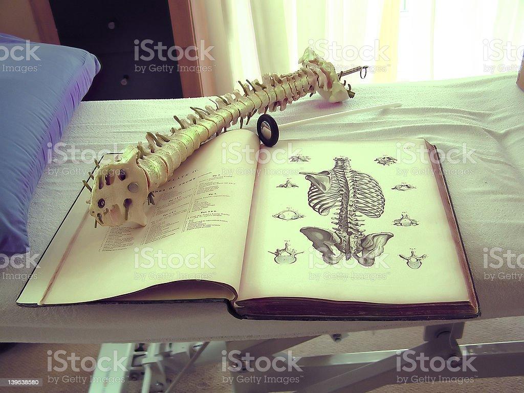 osteopaths surgery stock photo
