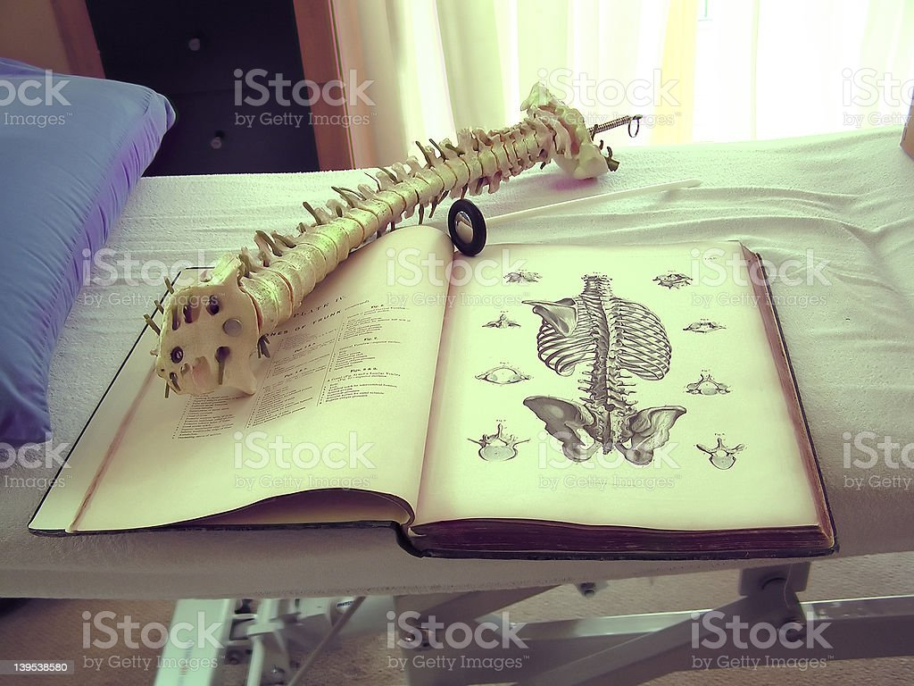 osteopaths surgery stock photo