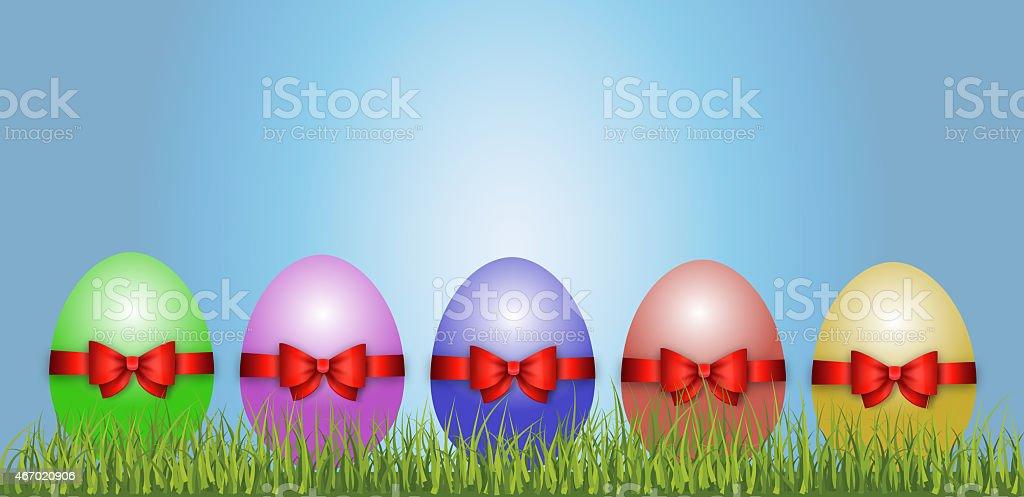 Osterei / Dekoration / Ostern stock photo