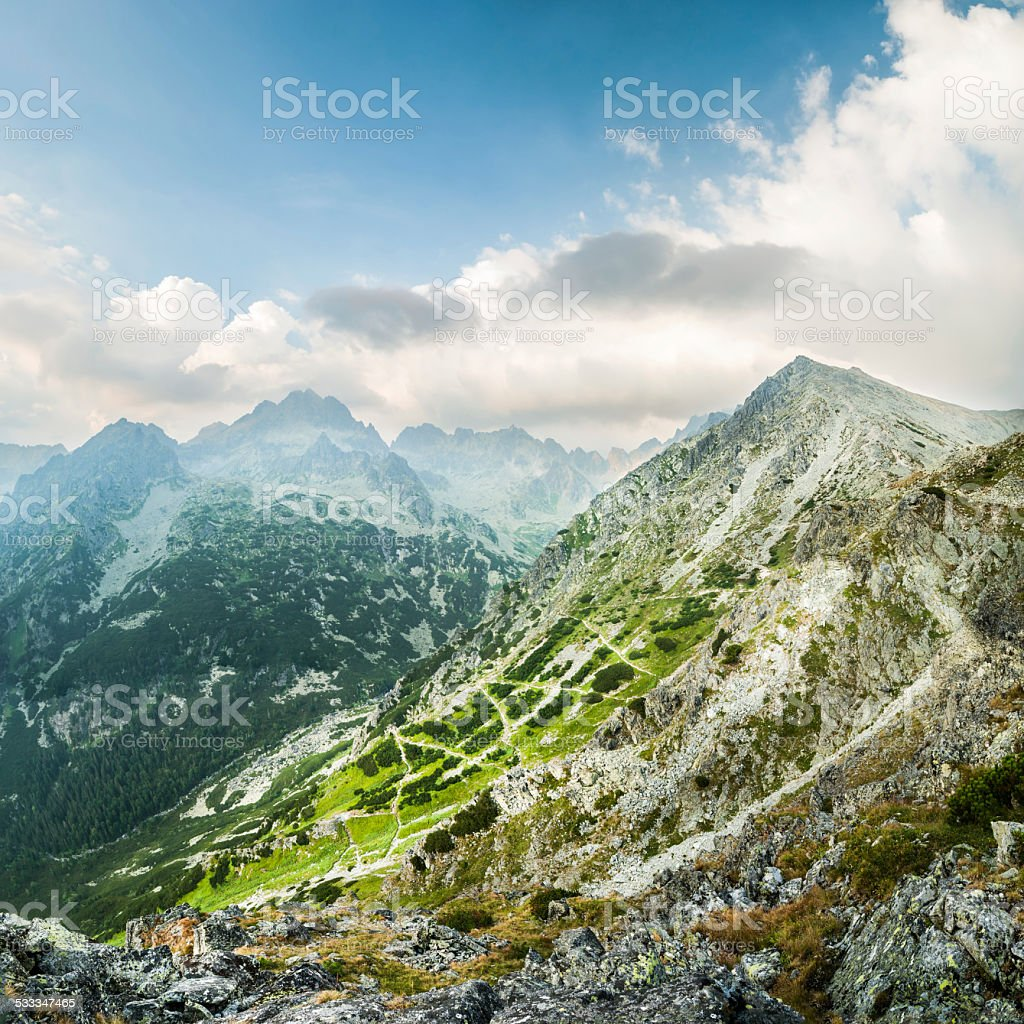 Ostrva Peak stock photo