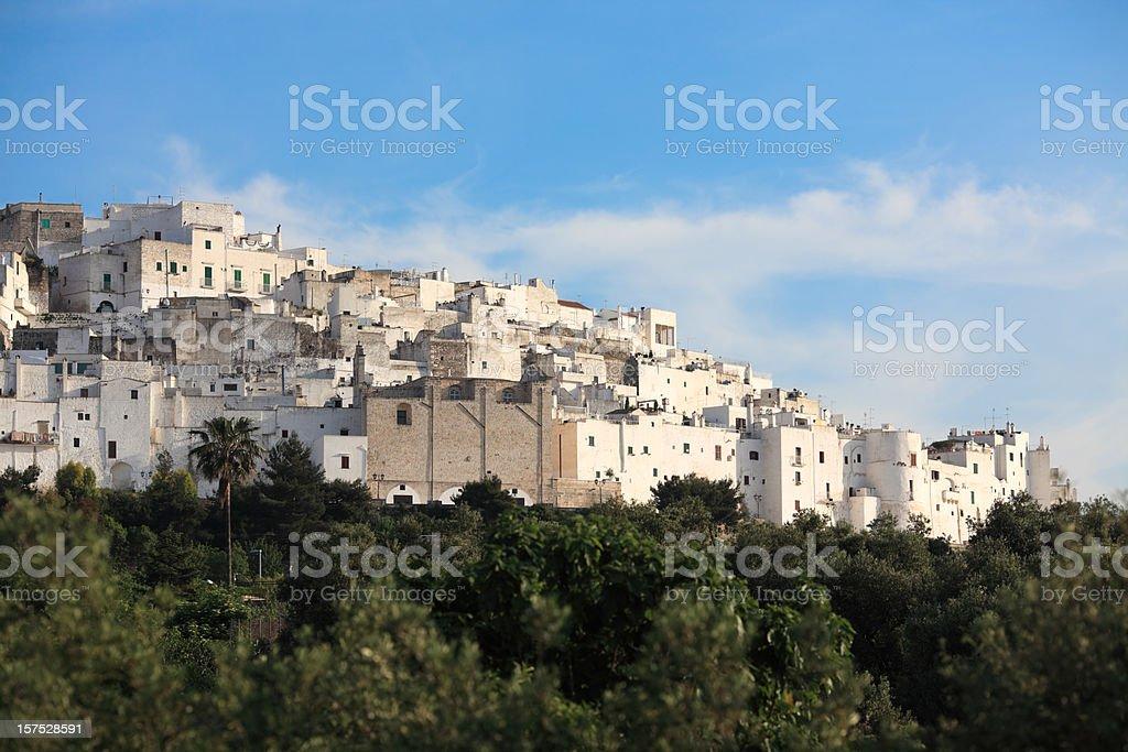 Ostuni architecture, Puglia Italy royalty-free stock photo