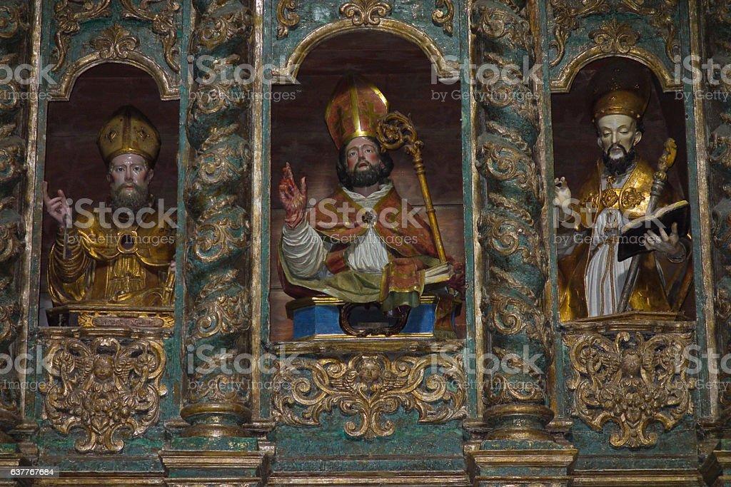Ostuni Cathedral. Puglia. Italy. stock photo