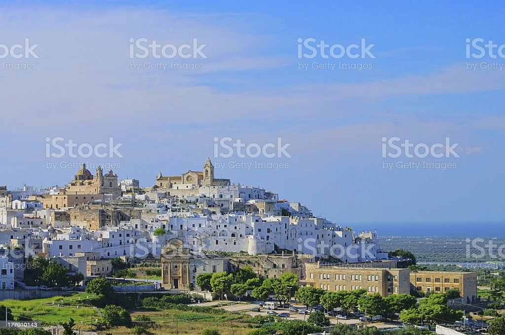 Ostuni royalty-free stock photo