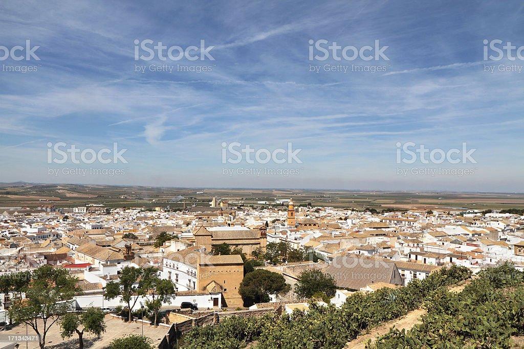 'Osuna, Seville Province, Spain.' stock photo