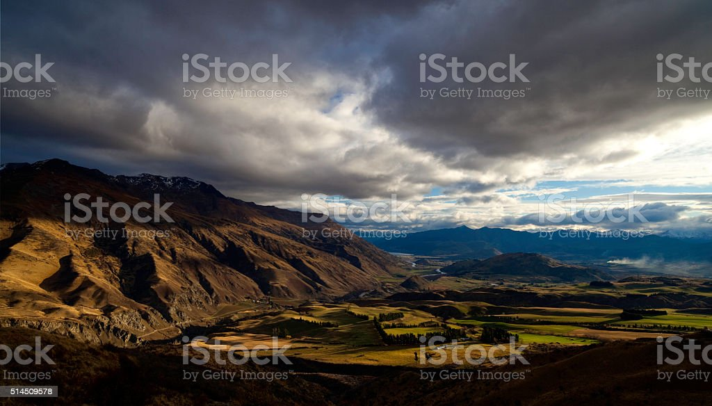 Otago Landscape stock photo