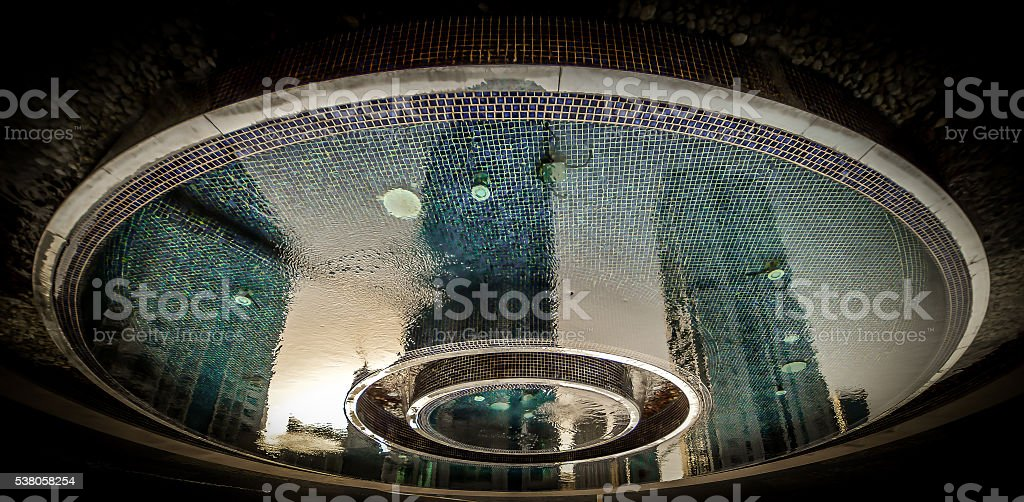 Other Dimension-Water reflection stock photo
