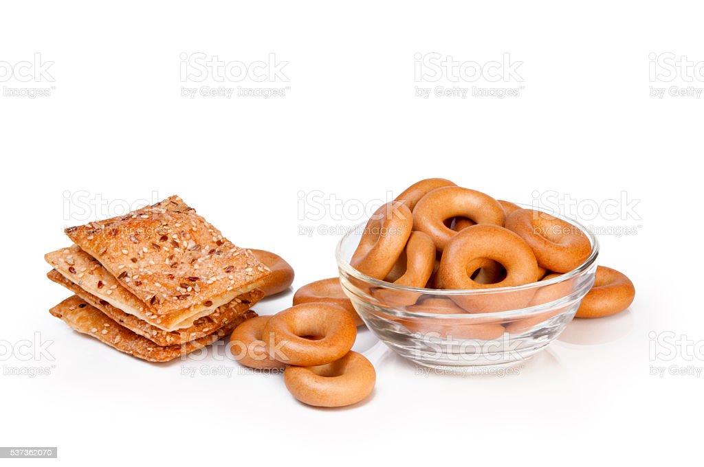 Other fresh pastries and bagels stock photo