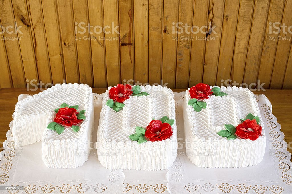 Other's events cake stock photo