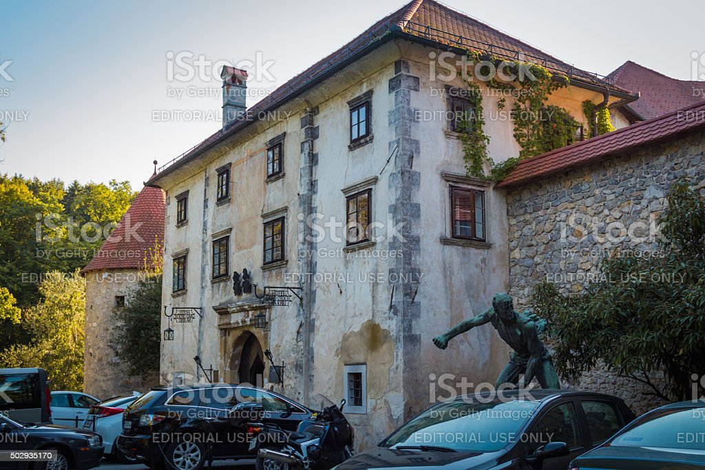 Otocec castle. stock photo