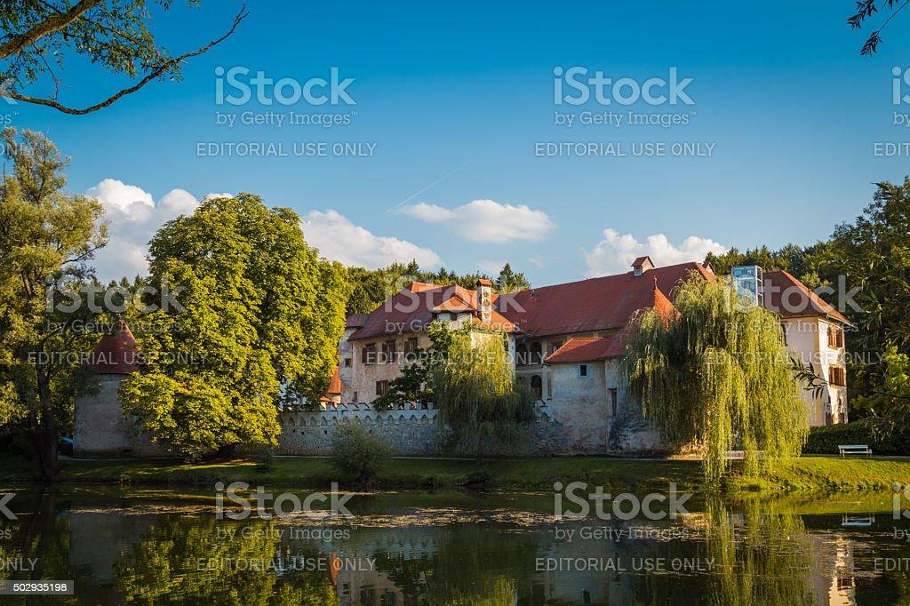 Otocec castle. stock photo