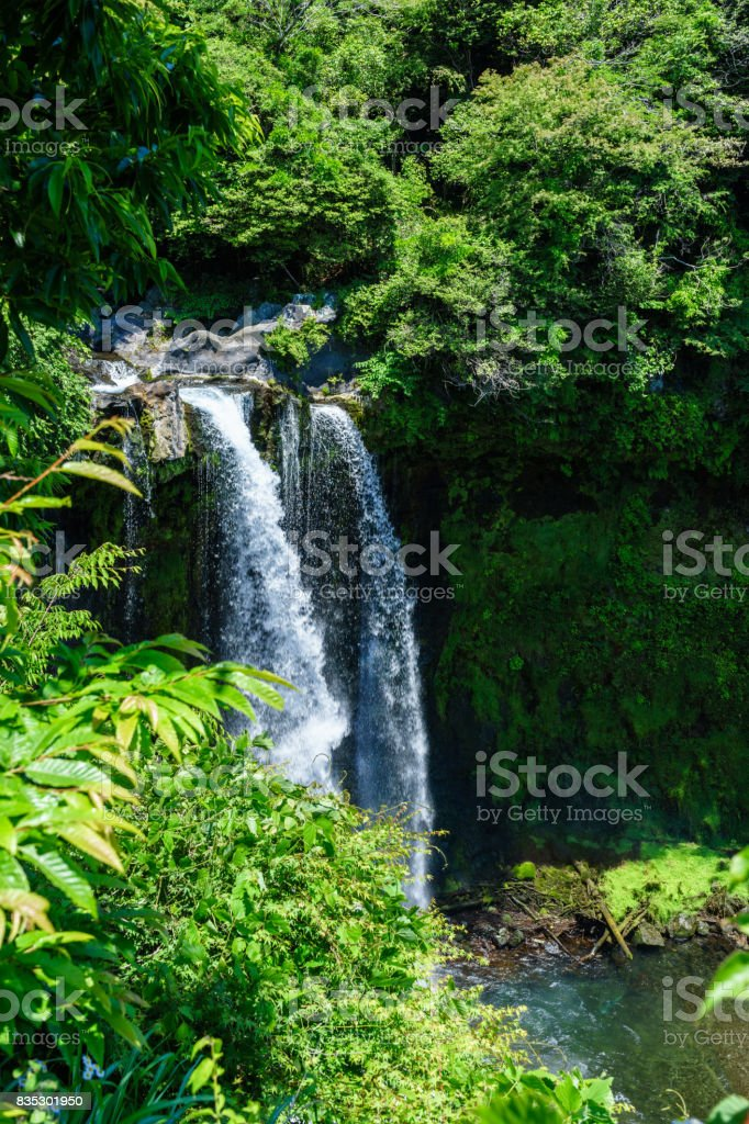 Otodome Falls stock photo