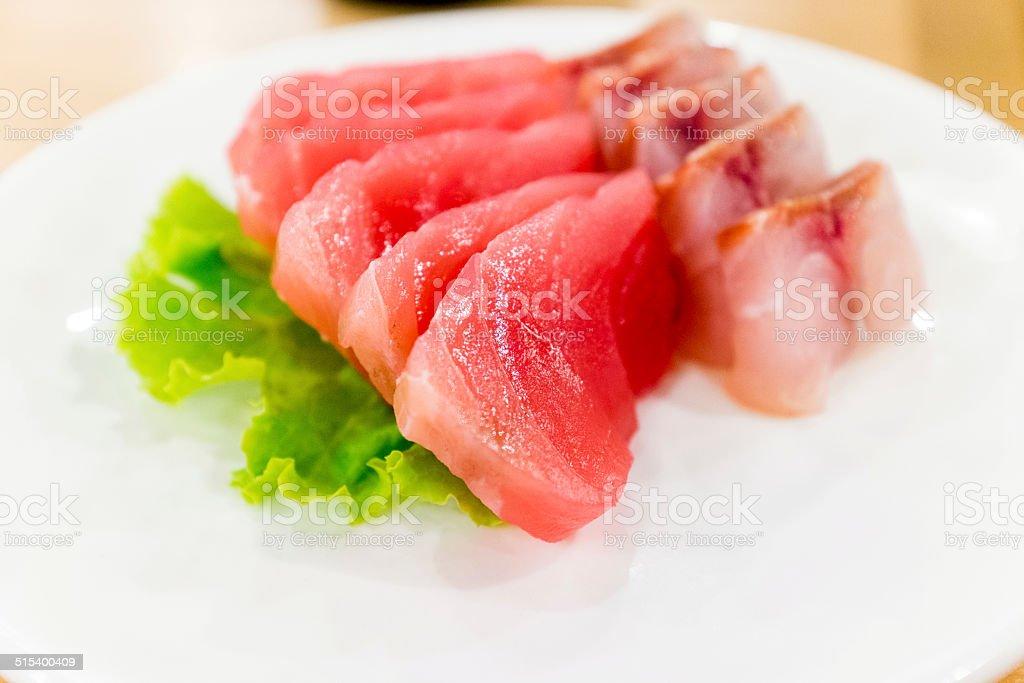 Otoro and Saba fish food Sushi stock photo