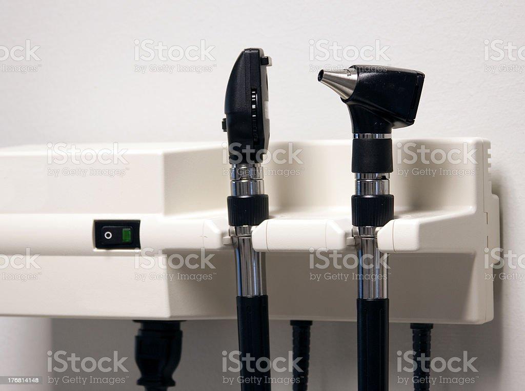 Otoscope stock photo