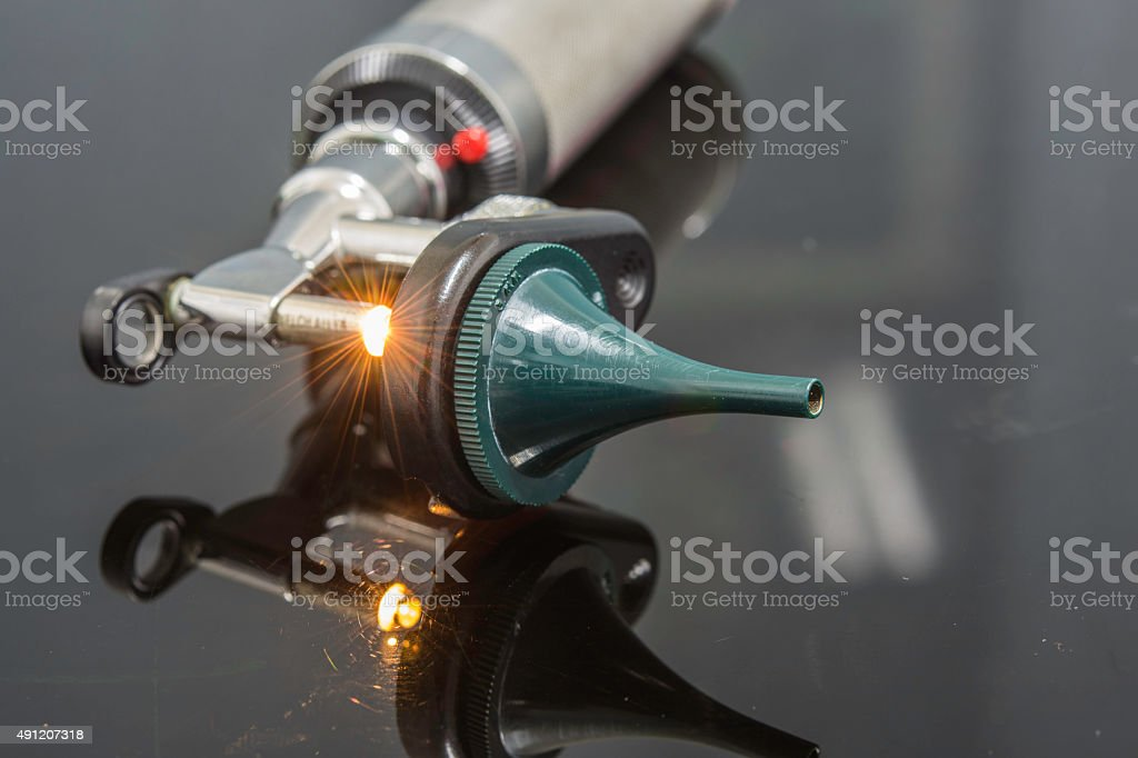 otoscope stock photo