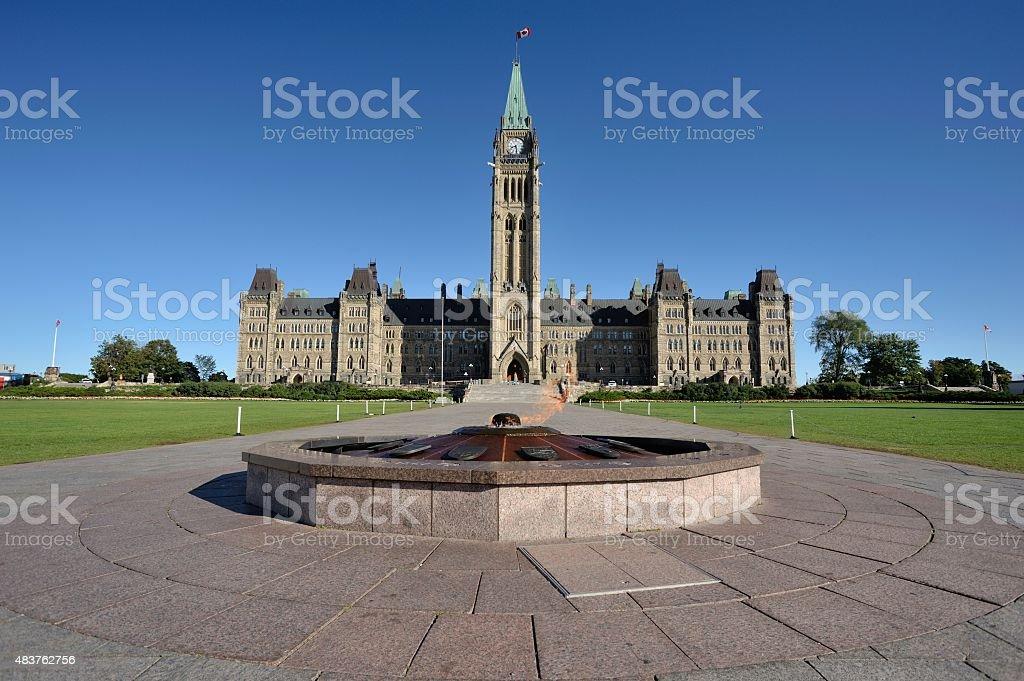 Ottawa Canada: Parliament Hill stock photo