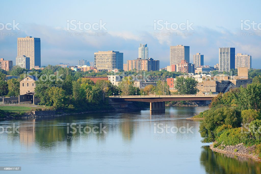 Ottawa cityscape royalty-free stock photo