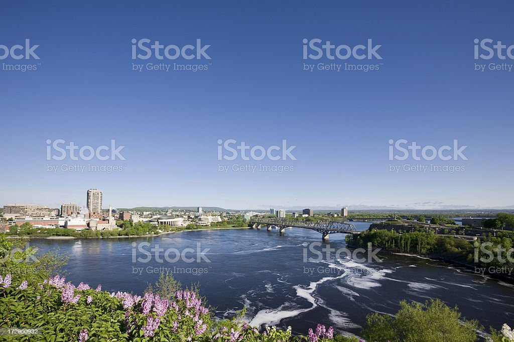 Ottawa, Gatineau royalty-free stock photo