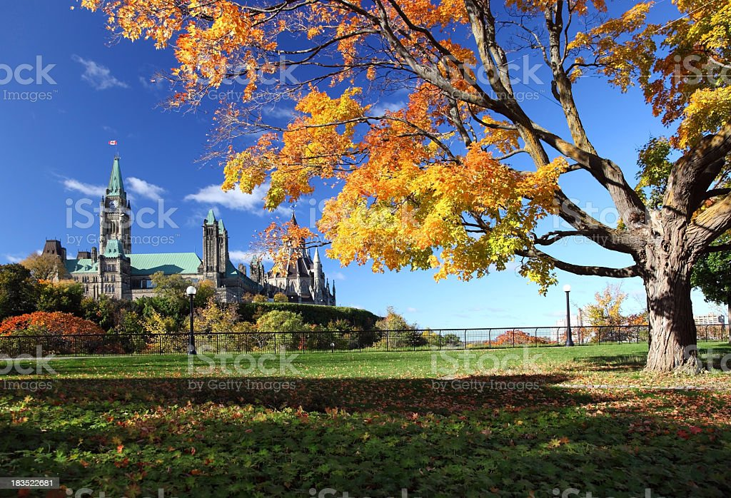 Ottawa in Autumn royalty-free stock photo