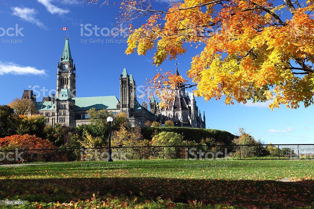 Ottawa in Autumn stock photo