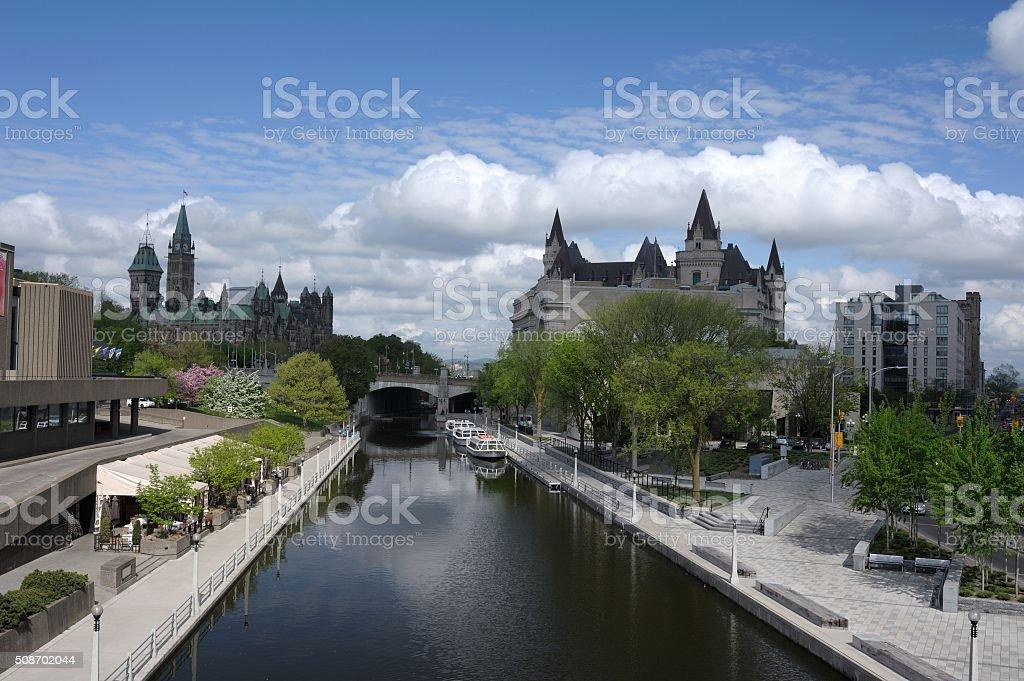 Ottawa Ontario Canada Springtime stock photo
