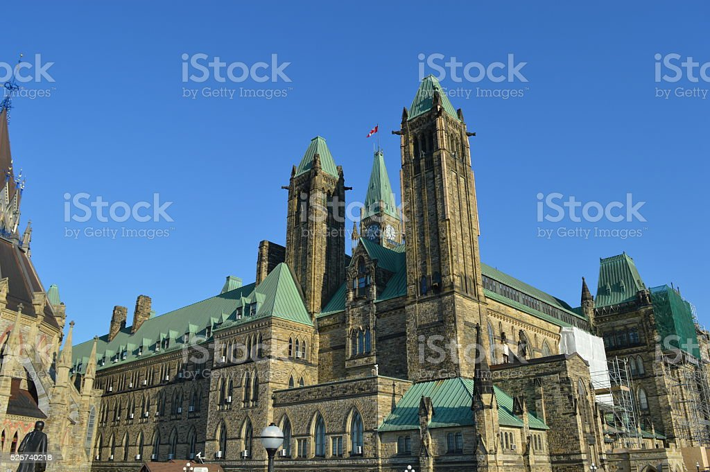 Ottawa Parliament Canada stock photo