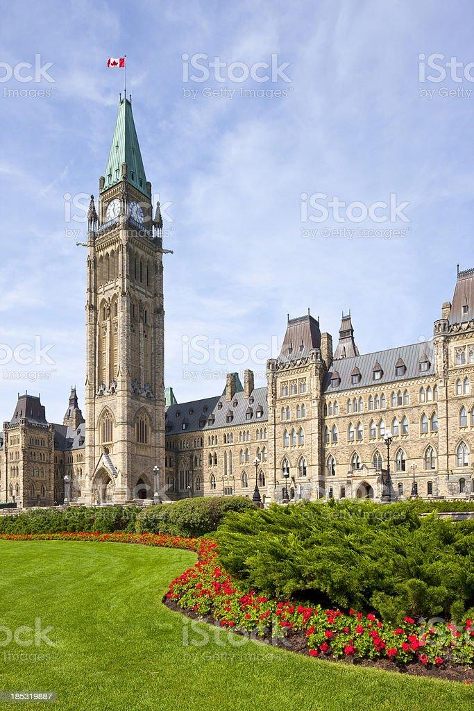 'Ottawa, Parliament Hill' stock photo